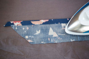 picture of Ironing the hem still more