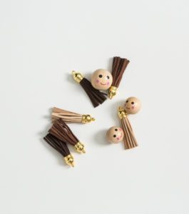 photo of beads and tassels